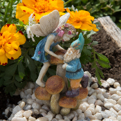 Codey the Gnome and Cassey on Shrooms for Mini Fairy Gardens