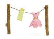 Out to Dry Clothes Line for Miniature Fairy Gardens