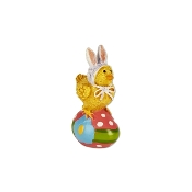 Easter Chick on Egg for Merriment Mini Fairy Gardening