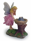 Fairy In Awe by Bluebird Nest For Miniature Fairy Gardens