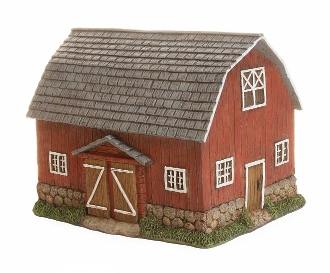 Marshal's Barn For Miniature Fairy Gardens