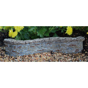 "7.5"" Curved Shale Wall For Miniature Fairy Gardens"