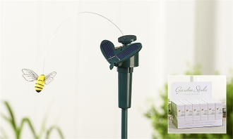 "Solar Motorized ""Flying Bee"" for Fairy Gardens - EXCLUSIVE"