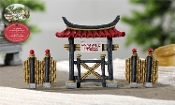 Zen Gate (Set/3) for Miniature Fairy Gardens - EXCLUSIVE
