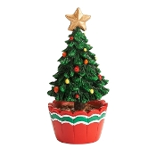 Potted Christmas Tree for Merriment Fairy Gardening