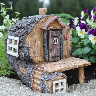 Hidden Hollow Fairy House for Miniature Fairy Gardens