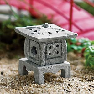 Asian Lantern For Miniature Fairy Gardens