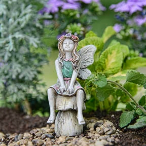 Summer the Fairy For Miniature Fairy Gardens