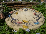 Bird Patio Pad for Miniature Garden Furniture