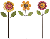 Flower Picks - Set of 3