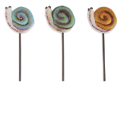 Sale - Snail Picks - Set of 3