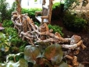 Birch Twig Fence for Fairy Miniature Garden