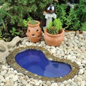 "Fairy Garden Pond (5.5"" Long)"