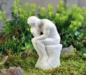 The Thinker Statue for your Artsy Fairy Garden