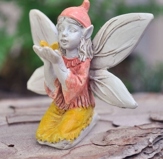 Sidney, Fairy Holding Butterfly