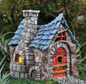 Bakery for Fairy Garden - Door Opens and Closes!