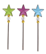 Sale - Star Picks for Fairy Garden - Set of 3