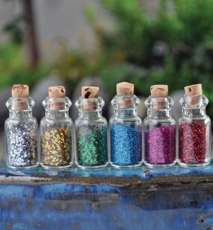 Fairy Dust For Fairy Garden - 6 Assorted