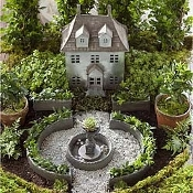 French Garden Miniature Fairy Set