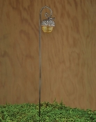 Translucent Acorn Lantern On Hook For Miniature Fairy Gardens
