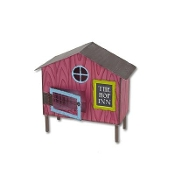 Sale - Bunny Hutch by Gypsy Garden for Miniature Fairy Gardening