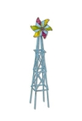 Colorful Windmill by Gypsy Garden for Miniature Fairy Gardening