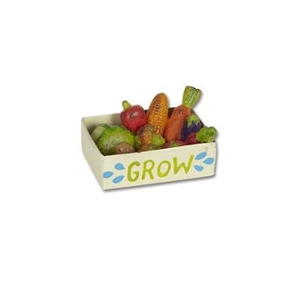 Veggie Crate by Gypsy Garden for Miniature Fairy Gardening