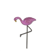 Pink Flamingo by Gypsy Garden for Miniature Fairy Gardening