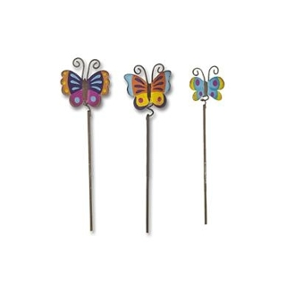 Set 3/Butterflies by Gypsy Garden for Miniature Fairy Gardening