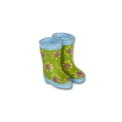Sale -Rain Wellies by Gypsy Garden for Miniature Fairy Gardening