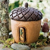 SALE! Jerry's Acorn Manor for Miniature Fairy Gardens