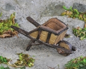Small Wheelbarrow for Miniature Fairy Gardens