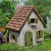 Morning Glory House For Miniature Fairy Gardens