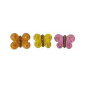 Sale - Set 3/Butterfly Step Stones for Miniature Fairy Gardens
