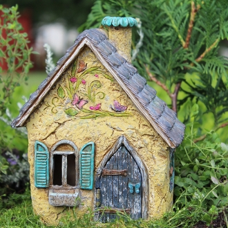Brookside Cottage for Miniature Fairy Gardening