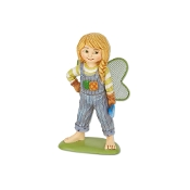 Eva the Garden Fairy for Merriment Miniature Fairy Gardening
