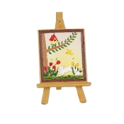 Sale - Artist Easel for Merriment Miniature Fairy Gardening