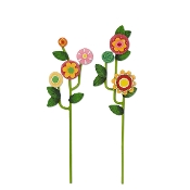 Set/2 Flowering Vine Picks for Merriment Mini Fairy Gardening