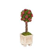 Sale - Rose Topiary for Merriment Miniature Fairy Gardening