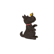 Scottie Dog for Merriment® Miniature Fairy Gardening
