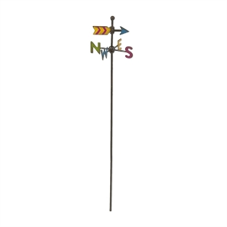 Colorful Weathervane for Miniature Fairy Gardens