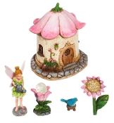 Blossom BLVD Fairy Garden Set for Miniature Gardens - EXCLUSIVE