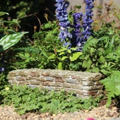 Stone Fairy Wall for Miniature Fairy Garden