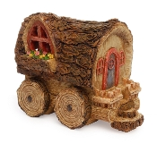 Woodland Gypsy Wagon For Miniature Fairy Gardens