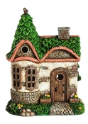 English Cottage (Lighted) for Miniature Gardens - EXCLUSIVE