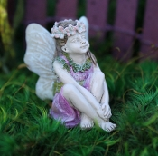 Lauren the Fairy for Miniature Fairy Gardens