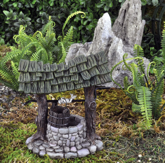 Wishing Well For Miniature Fairy Gardens
