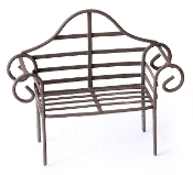 Iron Bench for Miniature Fairy Gardens