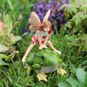 Lori and the Leap Frog Fairies For Miniature Gardens