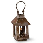 Rustic Lantern For Miniature Fairy Gardens